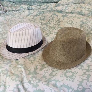 Bundle of 2 fedoras